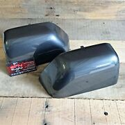 Brand New Oem 17+ Ford Super Duty Painted To Match Mirror Caps - Magnetic Gray