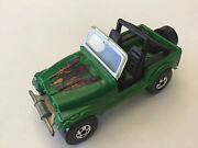 Hot Wheels Prototype Cj7 Jeep Green Ultra Rare Mike Strauss Collection Mint