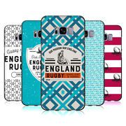 Official England Rugby Union History Black Soft Gel Case For Samsung Phones 1