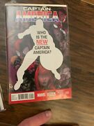 Captian America 25 And 34 Lot First Buck And Sam Captain America