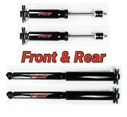 Front And Rear Shocks For Chevrolet S10 Blazer Sonoma Jimmy S15 2wd Rwd Fcs