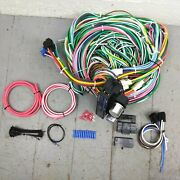 1955 - 1964 Gm Full Size Wire Harness Upgrade Kit Fits Painless Fuse New Circuit