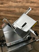 2009 Bizerba Se 12 Us Manual Cheese/deli Meat Slicer Cutter 120 V / Phase 1