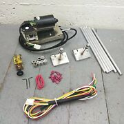 Ford Muscle Car Power Windshield Wiper 2-speed Motor Upgrade W/ Harness + Switch