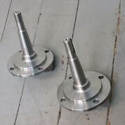 1928-1948 Ford Plain Cast Straight Axle Front End Spindles Nice Quality In Stock