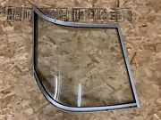 1994 Maxum Curved Boat Window Windshield Driver Starboard Side Only Read Desc