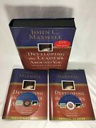 John Maxwell Developing Leaders Around You Training Curriculum 2 Dvd Set Guides