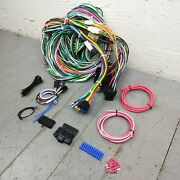 1949 - 1954 Chevy Wire Harness Upgrade Kit Fits Painless Fuse Block New Update