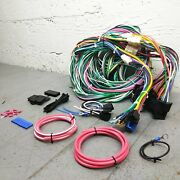 1963 - 1965 Ford Mustang Wire Harness Upgrade Kit Fits Painless Update Fuse New
