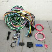 1962-67 Aircooled Vw Beetle Squareback Fuse Box Wire Harness Wiring Upgrade Kit