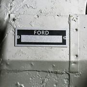 Ford Custom Id Data Plate Vehicle Identification Serial Number Tag Model A F-150