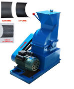 Updated 220v Small Hammer Crusher Industrial Crusher W/ One Motor Drive 021488