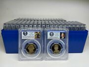 2007s - 2016s Presidential Dollar Completed 39 Coins Proof Set Pcgs Pr70dcam -38