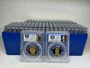 2007s - 2016s Presidential Dollar Completed 39 Coins Proof Set Pcgs Pr69dcam -39