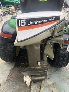 15hp Johnson Outboard Motor