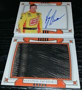 2020 Panini National Treasures Ryan Newman Auto Race Used Tires Booklet 20/25