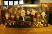 Pez Lord Of The Rings Collectors Series Set Of 8 New In Box 2011