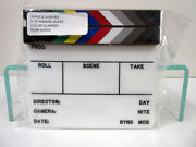 New Birns And Sawyer 425004 Acrylic Production Insert Slate Color Clapper Sticks