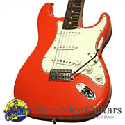 Used Vanzandt 2019 Stv-r2 Fiesta Red Electric Guitar Free Shipping
