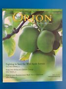 Orion Magazine May Jun 2008 People Nature Culture Climate Change Elephants Apple