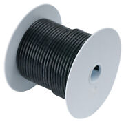 Ancor 112025 Black 6 Awg Tinned Copper Wire 250and039