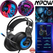 Mpow Eg3 Upgraded Wired Gaming Headset Hd Surround Sound Headphone For Pc Ps3 S4
