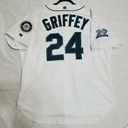 Authentic 52 2xl Ken Griffey Jr. Seatle Mariners Russell Athletic Jersey Rare