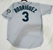 Authentic 52 2xl Alex Rodriguez, Seatle Mariners Russell Athletic Jersey Rare