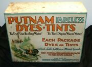 Putnam Fadeless Dyes And Tints Store Display