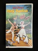 Walt Disneyand039s Mary Poppins Vhs Rare Collectible