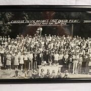 Historic Cp Air Real Photo First Annual Picnic 1942 Cpa Canadian Pacific Airline