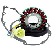 Stator + Gasket Kit For Honda Trx 300 Fourtrax Ex � Es 1997 1998 1999 2000