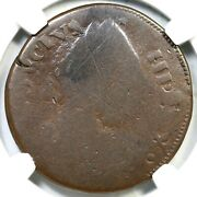 1785 V 15-85ny R-6 Ngc Fair Details Immune Columbia George Iii Colonial Coin