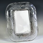 Lenox Crystal Glass 8 X 10 Picture Photo Frame