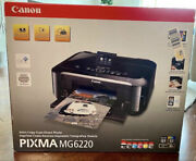 New Factory Sealed Canon Pixma Mg6220 Wireless Inkjet Photo All-in-one Printer