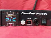 Clearone Ws880 915mhz Multi-channel Wireless Microphone Receiver Clear One Ws800