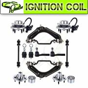 For 02-05 Ford Explorer 12x Front Wheel Bearing Hub Control Arm Ball Joint