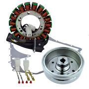Kit Improved Flywheel + Stator + Gasket For Arctic Cat 375 2x4 4x4 Auto 2002
