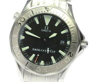 Omega Seamaster300 Americaand039s Cup 2533.50 Wg Bezel Automatic Menand039s_603978