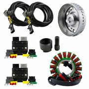 Voltage Regulator + Stator + 900w Flywheel For Polaris Ranger 900 2017 2018
