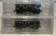 Bluford Shops N Scale Central Vermont 30andrsquo6 2-bay Panel Side Hopper Twin Pack Nib