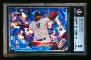 2016 Topps Chrome Sapphire 265 Luis Severino Rc Yankees Rookie Sp Bgs 9 Mint