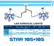 Ot Surgical Lamp Operating Surgical Lights Operation Theater Lamps Dual Lamp