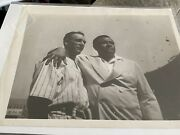 Babe Ruth Lou Gehrig Photo Type Iii Psadna Authenticated Lou Gehrig Day 8x10