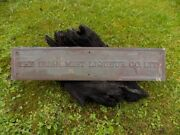 Irish Mist Whiskey Bronze Sign - Extremely Rare One Of A Kind. Pub -andpound2050