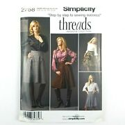 Simplicity Pattern Andmiddot 2758 Andmiddot Size H5 6-14 Andmiddot Misses Womens Skirt