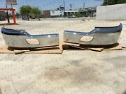 Kenworth T680 Chrome Steel Bumper Pair Lh + Rh + Brackets Local Pickup