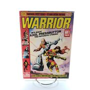 Warrior Magazine 1 First Appearance Of V For Vendetta And Miracle Man March 1982