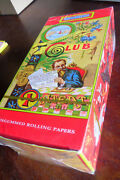 Box 50 Club Modiano Rolling Papers No Gum Vintage Rare Single Size Sealed