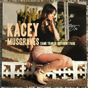 Signed Kacey Musgraves Same Trailer Different Park And Golden Hour Vinyl Lp Auto